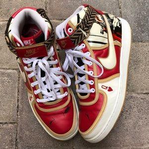 "Rare Nike High Vandal ""King of Hearts"""